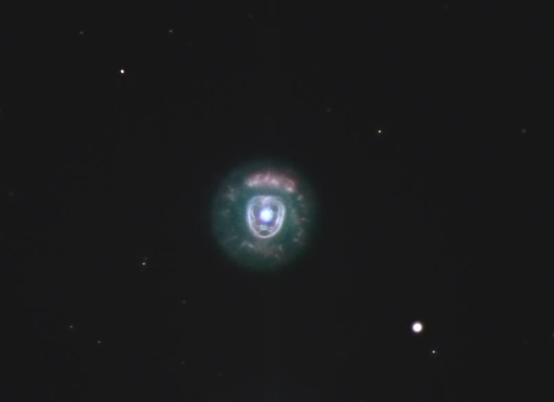 how to find the eskimo nebula